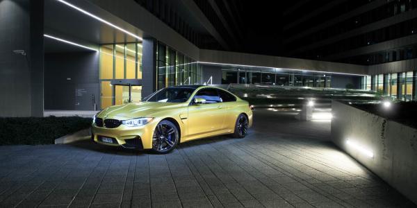 Złoto - BMW M4