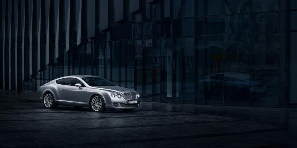 Bentley GT na ulicach Warszawy