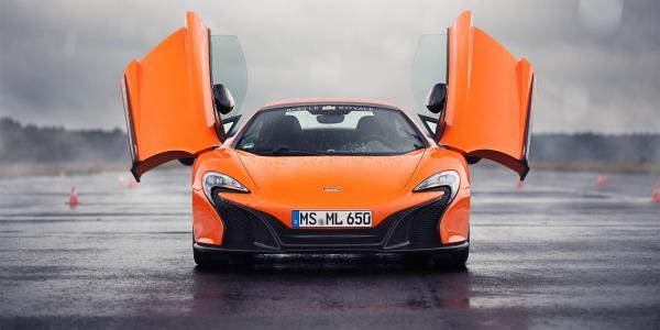 McLaren 650s w Białej Podlaskiej