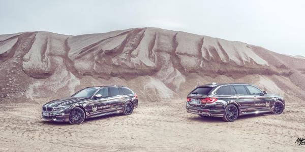 PREDATOR | CZYLI ZAMASKOWANE BMW 5 M PERFORMANCE