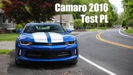 Chevrolet Camaro RS 2016 TEST PL