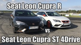 Motocamil94 i Kickster testują  - Seat Leon Cupra R & Leon Cupra 4Drive