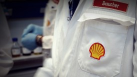W Centralnym Laboratorium Shell w Hamburgu