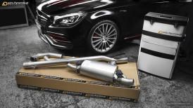 Mercedes Benz CLA45 AMG [C117] Sportowy Układ Wydechowy REMUS by auto-Dynamics.pl