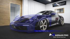 Porsche 911 Carrera 4S (992) zabezpieczone folią ochronną Magnus Pro®