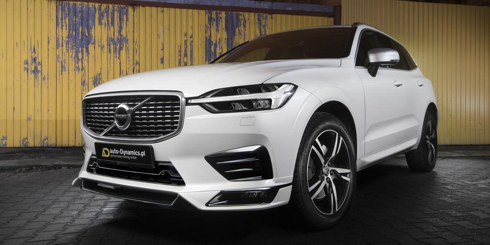 Volvo XC60 [SPA / II] Spoiler Zderzaka Przedniego - Dyfuzor Zderzaka Tylnego - Układ Wydechowy HEICO