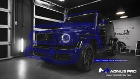 Mercedes-Benz G63 AMG zabezpieczony folią ochronną Magnus Pro®