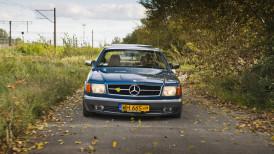 Niebieska piękność - Mercedes C126 420 SEC