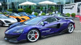 Z wizytą w McLaren Warszawa