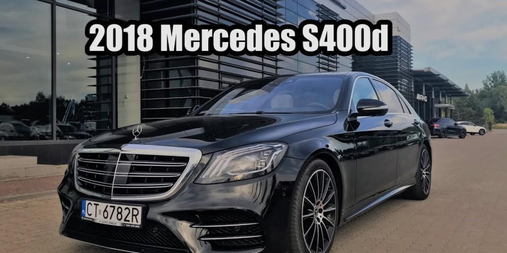 2018 Mercedes S400d W222 pierwsze wrażenia