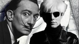 Salvador Dali VS Andy Warhol: samochodowy pojedynek