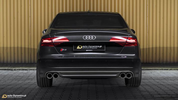 Audi S8 [D4] Sportowy Układ Wydechowy CAPRISTO by auto-Dynamics.pl