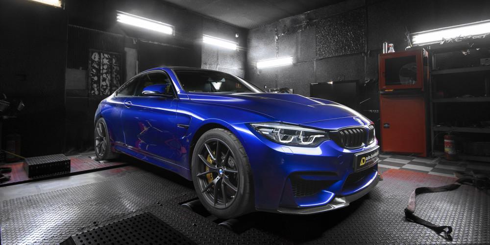 BMW M4 CS [F82] Chiptuning ECU Sportowe Filtry BMC Rury DP Downpipe's AKRAPOVIC by auto-Dynamics.pl