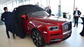 Rolls-Royce Cullinan – polska premiera pierwszego SUVa marki