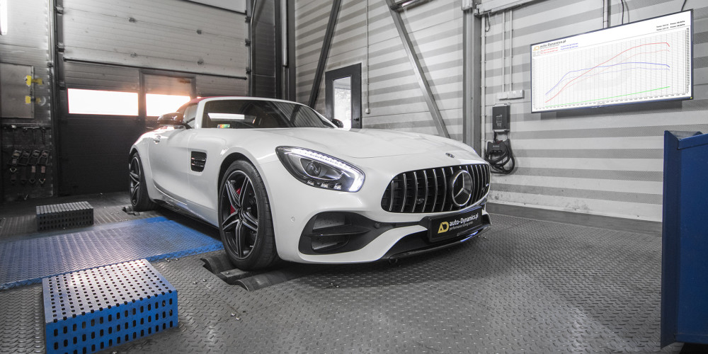 Mercedes-AMG GT C [R190] | STAGE 2: Rury Downpipe's SUPERSPRINT Filtry & BOV's WEISTEC Chiptuning