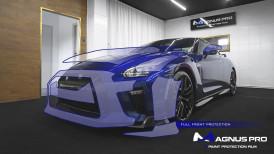 Nissan GT-R R35 MY20 zabezpieczony folią ochronną Magnus Pro®