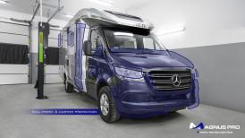 Mercedes-Benz Sprinter Camper zabezpieczony folią ochronną Magnus Pro®