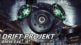 Drift Projekt - BMW e46 #11 - Tylny układ hamulcowy - drift setup