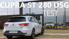 SEAT LEON CUPRA ST 280 DSG - TEST [PL]