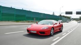 Ferrari 360 Modena – surowa przyjemność