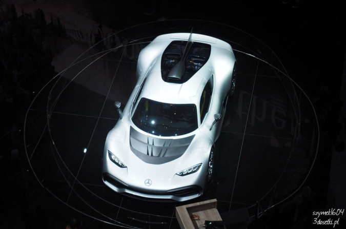 Mercedes-AMG Project ONE - premiera, blog motoryzacyjny