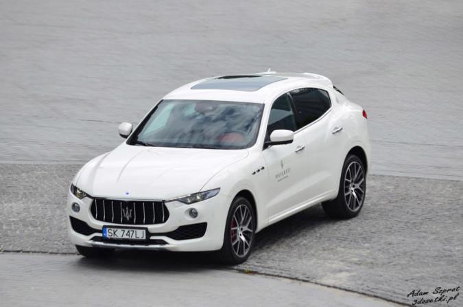 Dzień z Maserati - Maserati Levante S, strona, blog, samochody