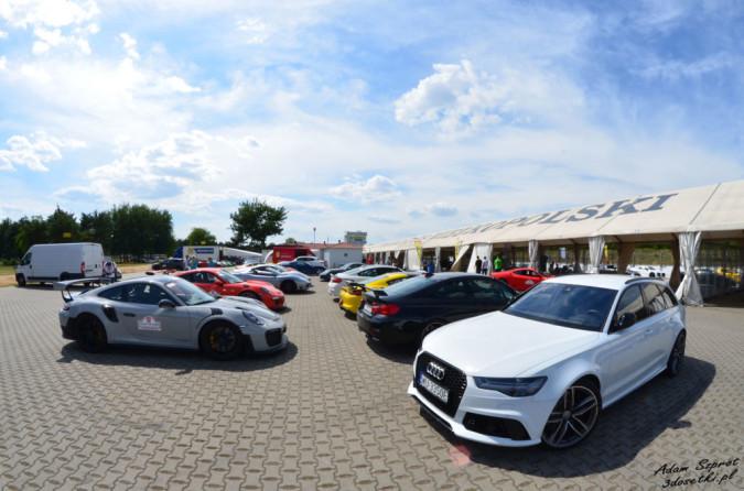 Gran Turismo Polonia 2018 - parking na torze