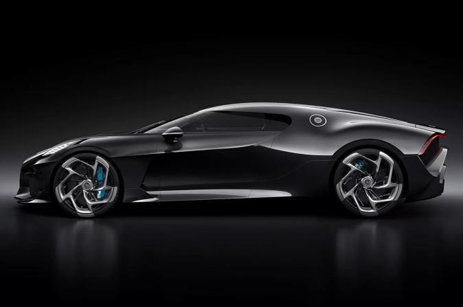 """Premiera Bugatti """"Voiture Noire"""""""