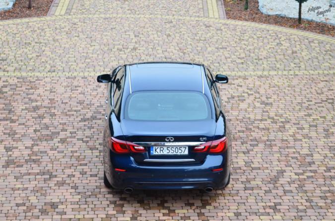 Infiniti Q70 - test samochodu, blog o motoryzacyji, ciekawy blog o autach, strona o samochodach, portal motoryzacyjny