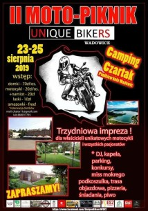 II Moto-Piknik Unique Bikers 2019