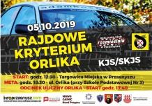 Rajdowe Kryterium Orlika 2019