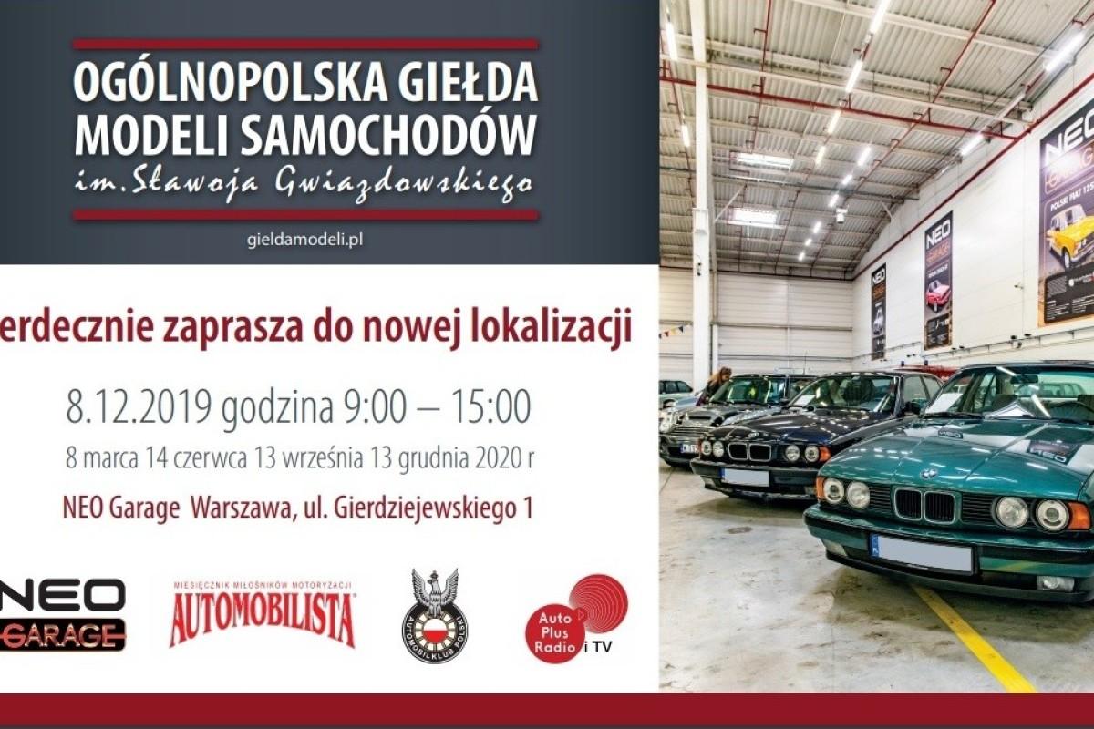 OGÓLNOPOLSKA GIEŁDA MODELI SAMOCHODÓW im. Sławoja Gwiazdowskiego