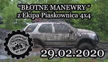 Błotne manewry z Ekipa Piaskownica 4x4