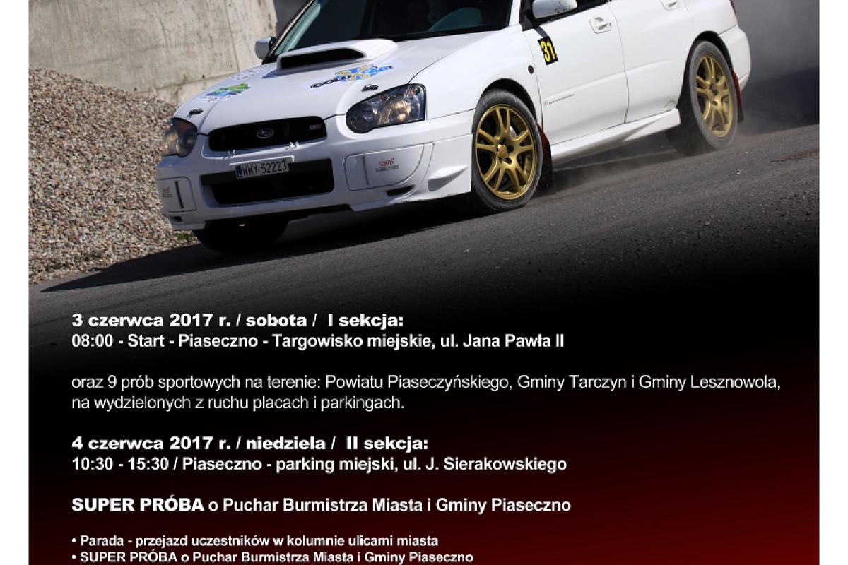 2017 RSMAKC Rally Piaseczno