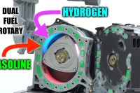 Mazda Built A Hydrogen And Gasoline Powered Rotary Engine