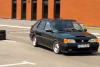 Polonez Caro FSO swap 3.0 V6 24V 215KM tuning drift KZK R46 C.H. Ptak Outlet 1080p 60kl/s