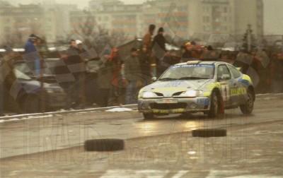 34. Janusz Kulig i Jarosław Baran - Renault Megane Maxi.   (To zdjęcie w pełnej rozdzielczości możesz kupić na www.kwa-kwa.pl )
