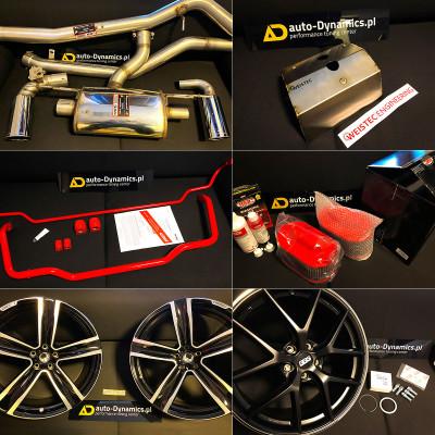 """✅ Sportowy Układ Wydechowy SUPERSPRINT ➡ BMW 430i [F36] ✅ Osłona Termiczna Turbosprężarki WEISTEC ➡ Mercedes Benz A45 AMG [W176] ✅ Zestaw Stabilizatorów Regulowanych EIBACH ➡ BMW 330d [F30] ✅ Sportowe Filtry Powietrza BMC ➡ Maserati Ghibli [M157] ✅ Felgi 21"""" VOLUTION V HEICO SPORTIV ➡ Volvo XC60 [SPA / II] ✅ Felgi 19"""" CI-R BBS ➡ Mercedes Benz CLA45 AMG [C117]"""