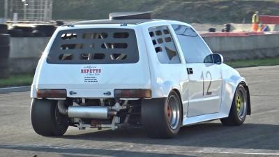 Fiat 500 with Kawasaki Ninja ZX-14R Engine SWAP! - 1441cc 12.000rpm 4-Cylinder Engine!