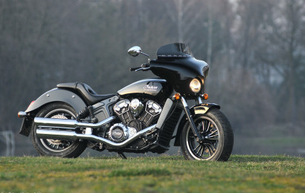 Indian Scout Batwing