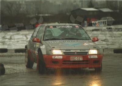 12. Maciej Kołomyjski i Sławomir Luba - Citroen Saxo Kit Car.    (To zdjęcie w pełnej rozdzielczości możesz kupić na www.kwa-kwa.pl )