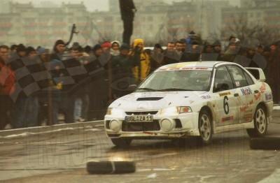 33. Wiesław Stec i Jakub Mroczkowski - Mitsubishi Lancer Evo IV.   (To zdjęcie w pełnej rozdzielczości możesz kupić na www.kwa-kwa.pl )