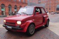 200 Fiatów 126p Zlot Manufaktura - 17 lat od zakończenia produkcji malucha Łódź 2017