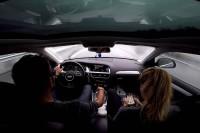 GoPro captures Audi A4 Allroad Quattro losing control at 140 km/h...