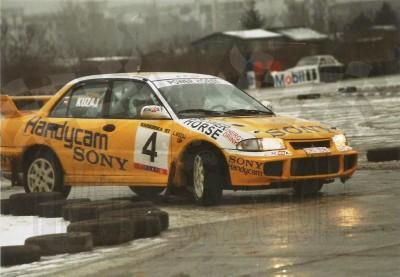 26. Leszek Kuzaj i Artur Skorupa - Mitsubishi Lancer Evo IV.   (To zdjęcie w pełnej rozdzielczości możesz kupić na www.kwa-kwa.pl )