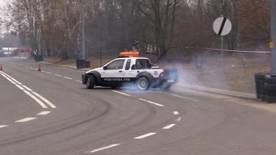 Drift Pickup Fiat Strada LS3 6.2 450HP 600Nm Krystian Morawietz
