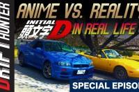Anime vs. Reality: Miata vs. GTR on Akina (Real Initial D)
