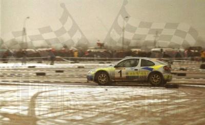 36. Janusz Kulig i Jarosław Baran - Renault Megane Maxi.   (To zdjęcie w pełnej rozdzielczości możesz kupić na www.kwa-kwa.pl )