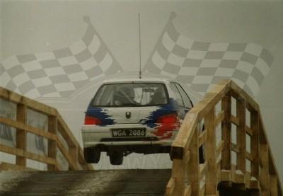 9. Jacek Jerschina i Artur Orlikowski - Peugeot 106 Maxi.   (To zdjęcie w pełnej rozdzielczości możesz kupić na www.kwa-kwa.pl )