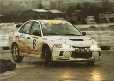 31. Wiesław Stec i Jakub Mroczkowski - Mitsubishi Lancer Evo IV.   (To zdjęcie w pełnej rozdzielczości możesz kupić na www.kwa-kwa.pl )